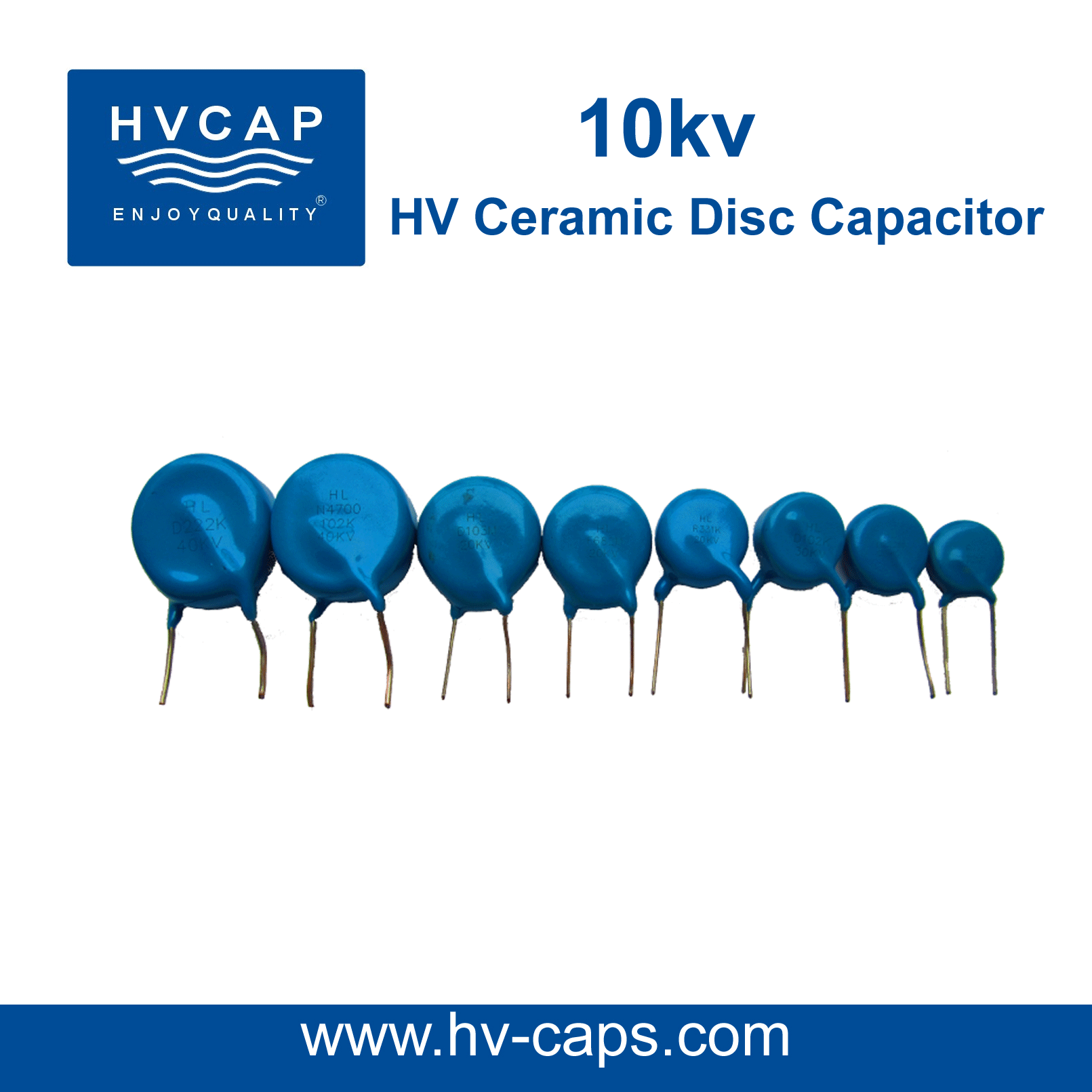 High Voltage Ceramic Capacitor 10kv detail specification.