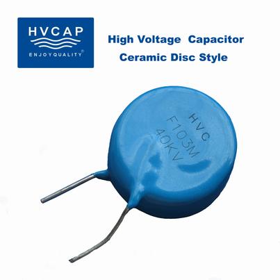 Hochspannung Keramikscheibenkondensator 1 kVDC bis 50 kVDC