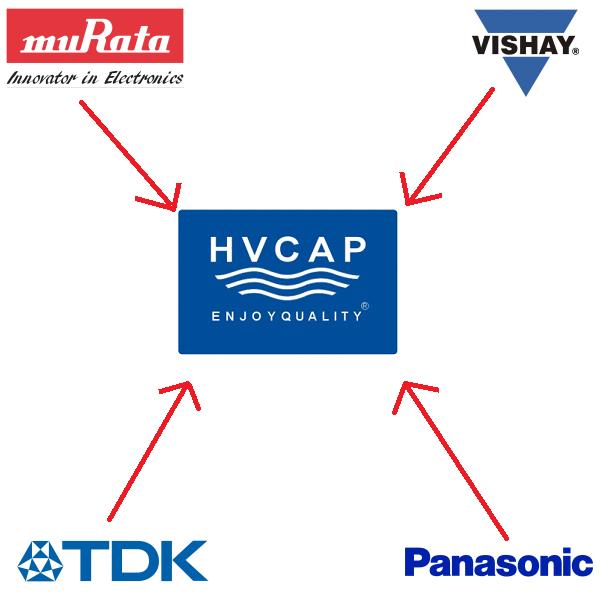 Ndërrimi alternativ për Murata Vishay HV Capacitor