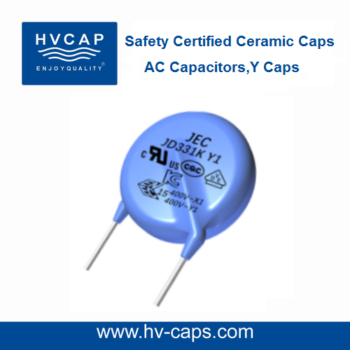 Class Y Capacitor,Y1,Y2 Safety Certified Capacitors, AC Safety Capacitor