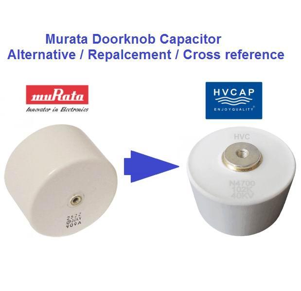 Alternatiewe vervanging vir Murata deurknop kondensator