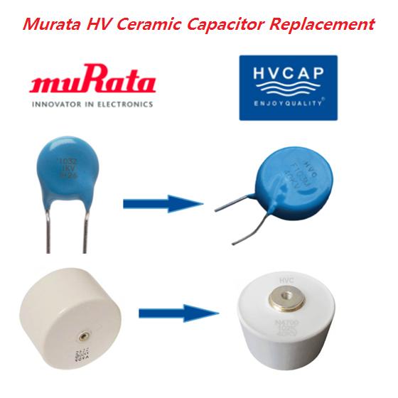 MURATA 고압 세라믹 콘덴서 인선 형 과 볼트 형 의 대체, 상호 참조 / 교환
