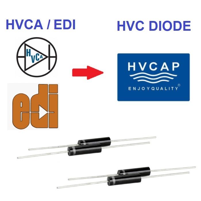 2CL2FM 20KV 100mA 100ns Hoogspanningsdiode, alternatiewe vervanging van HVCA EDI-diode van 2CL2FM