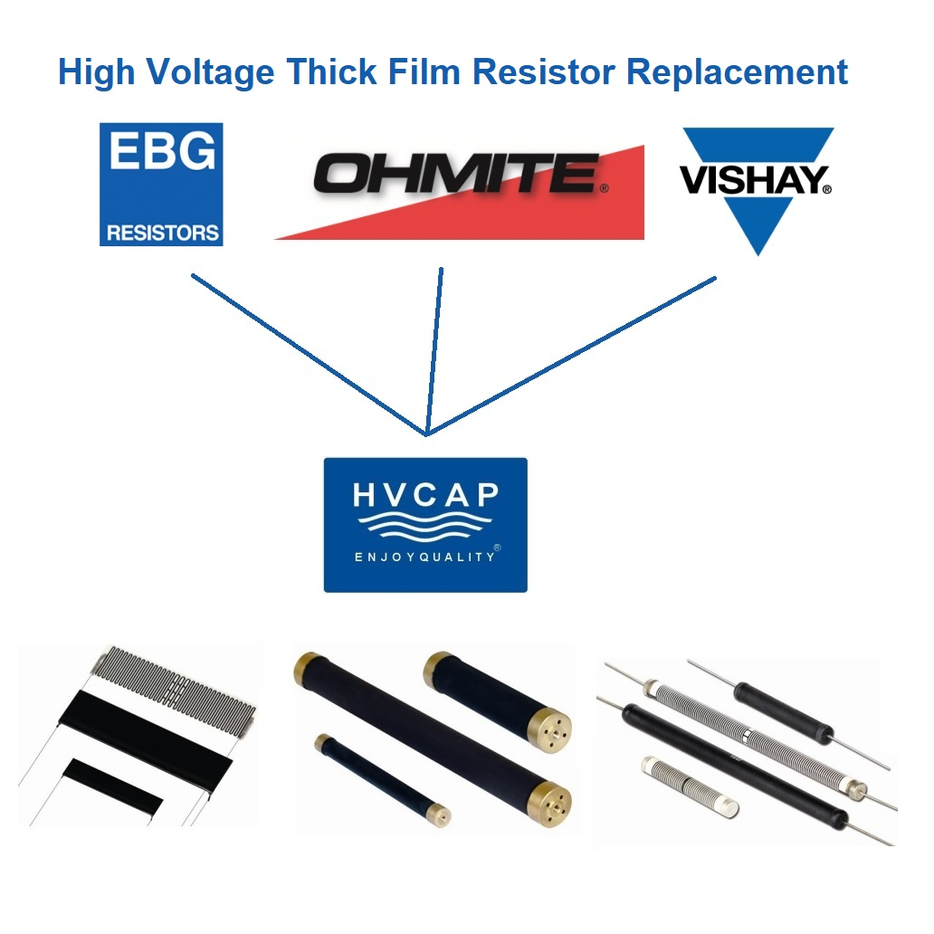 EBG MTX969.100 High Voltage And High Power Resistor Alternative Replacement