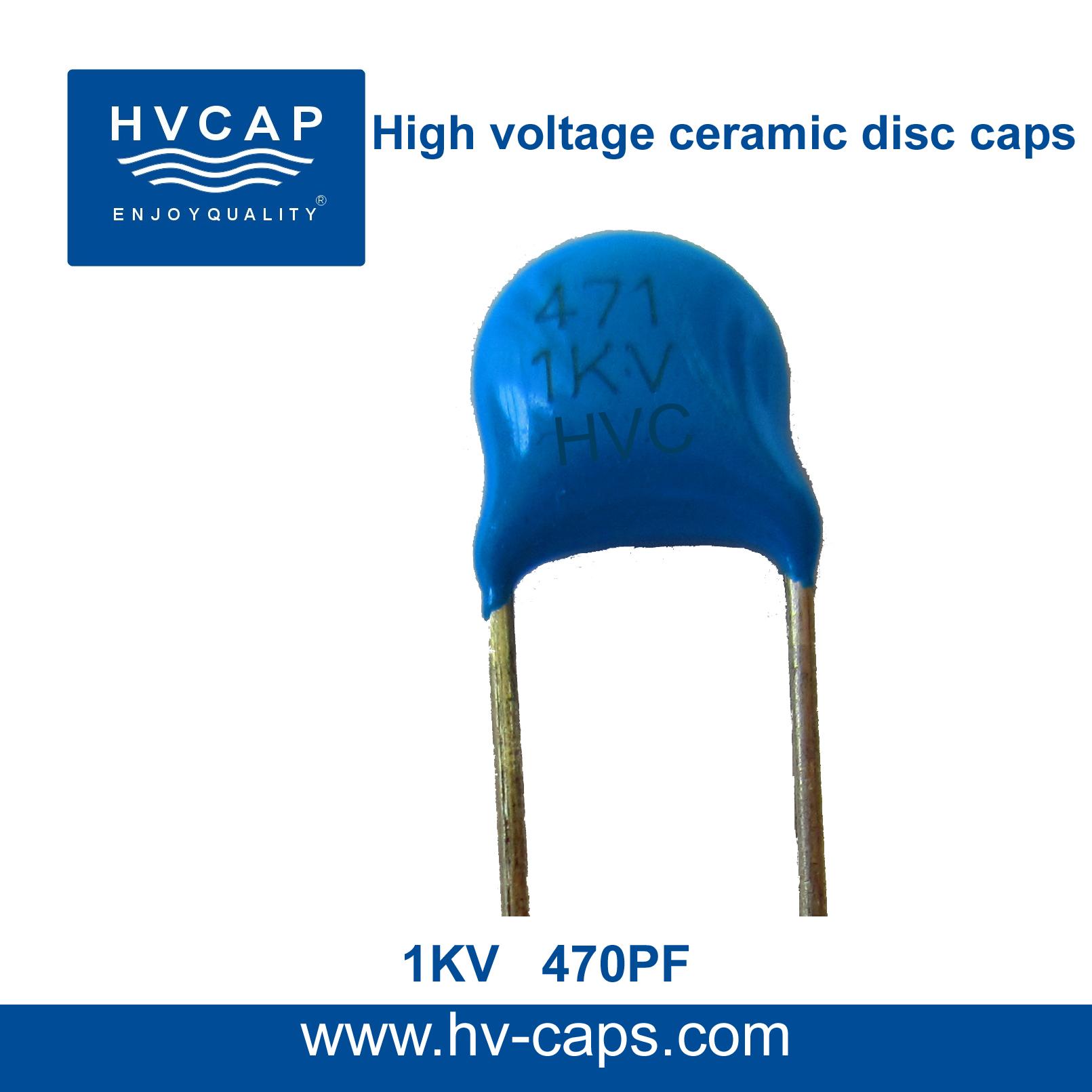 Visokonaponski keramički kondenzator 1KV 470PF
