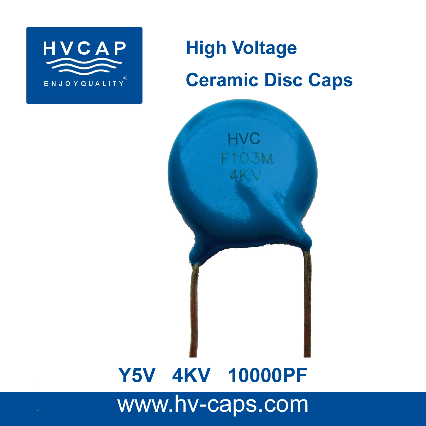 High Voltage Ceramic Disc Capacitor 4KV 10000PF