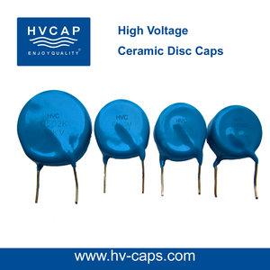HV সিরামিক ডিস্ক Caps 15KV 10000pf (15KV 103M)